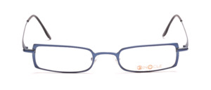 High quality and modern metal frame in blue