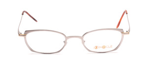 Aparte metal frame in matt silver with gold accents for ladies