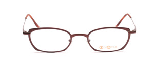 Aparte metal frame in chocolate brown for ladies
