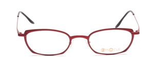 Aparte metal frame in cherry red for ladies