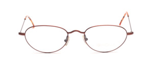 Lightweight metal frame for ladies in matt copper