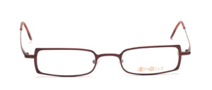 High quality and modern metal frame in chocolate brown