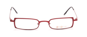 High quality and modern metal frame in cherry red