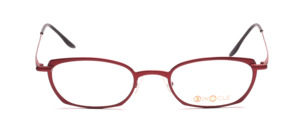 High quality metal glasses in red for women
