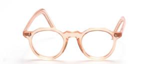 Eine klassische, etwas kleinere Panto Acetat Brillenfassung mit<br /> langen Bügeln