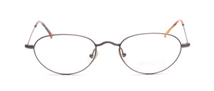 Lightweight metal frame for ladies in gray