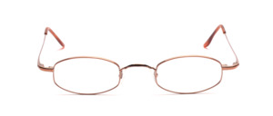 Aparte metal frame in rose gold in a flat elegant shape for ladies