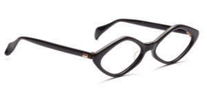 Diamond-shaped acetate frame from the 60s for ladies
