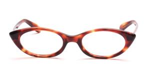 Cat Eye Damenbrille aus den 60er Jahren in Havanna