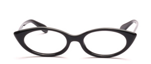 Cat Eye Damen Acetat Fassung aus den 60er Jahren in Schwarz
