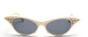 Schicke Damen Schmetterlings Sonnenbrille im Stil der 50er Jahre