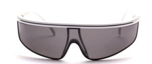 Sportliche, Windschutz Sonnenbrille mit leicht gekurvten Scheiben