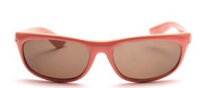 Sportliche, gekurvte Sonnenbrille im unisex Design