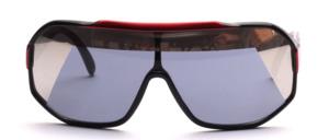 Sportliche, große Panorama Sonnenbrille der 80er Jahre