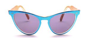 Sehr attraktive 80er Jahre Schmetterlings Sonnenbrille aus Italien