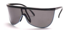 Leichte Sport Sonnenbrille mit gekurvten Panorama Scheiben