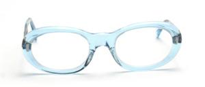 Damenfassung in zart Transparent Blau