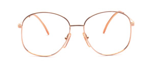 Vintage 80s ladies' Frame in gold