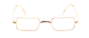 70s W-Bridge Frame in gold in an exceptional shape