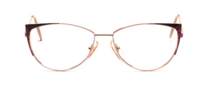 Aparte women's Frame in gold with pink and purple side decoration