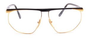 Great 80s men's Frame in gold and black