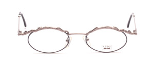 Feminine ladies Frame in Gunsilber with an artistically designed upper edge