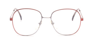 80s ladies' Frame in gray-rose gradient