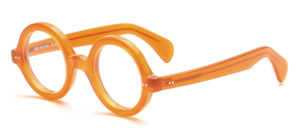 Currently sold out!<br /> Thick round acetate glasses, based on an original from the 30s