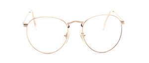 Possess Frame in gold with fine chiselling and high set temples