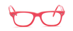 80s classic style children's glasses with side studs