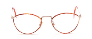 90s ladies' Frame in gold with light brown Windsor cover in front