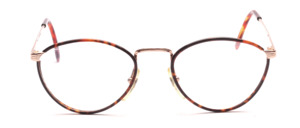 90s ladies' Frame in gold with dark brown Windsor cover in front