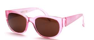 Sportlich aparte 90er Jahre Sonnenbrille mit breiten gerillten Bügeln
