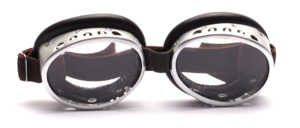 Oval nostalgic mountaineers or Cabriobrille in Luis Trenker style, since the 30s in the same style in use