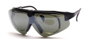 Universal Sportbrille mit Innen- Korrektionsrahmen zum Verglasen