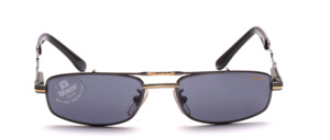 High quality, classy crafted metal design sunglasses in youth size