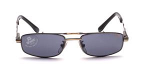 Hochwertige, edel gearbeitete Metall Design Sonnenbrille in Jugendgröße