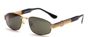 Elegant und exklusive Metall Sonnenbrille