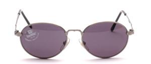 Hochwertige, schön und schlichte Damen Sonnenbrille in Antisilber