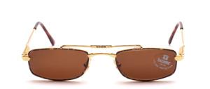 Eine hochwertige, edel gearbeitete Metall Design Sonnenbrille in normaler Größe, Made in Italy by BOXER