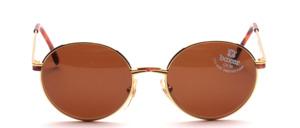 Hübsche, rundliche Metall Sonnenbrille