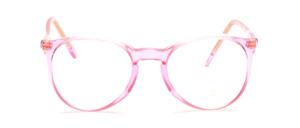 Kleine Pantofassung für Damen in Rosa Transparent
