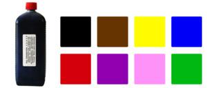 Ein Liter Kaltfarbe zum färben von klarem Acetat oder anderen Kunststoffen