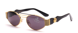 Exklusive Sonnenbrille mit breiten Seitenpartien