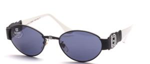 Edle und schöne Sonnenbrille mit breiten Seitenpartien