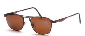 Hochwertige, edle Metall Sonnenbrille in aufwendiger Detailarbeit