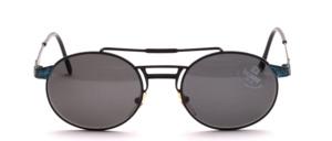 Modische, extravagante Herren Metall Sonnenbrille