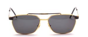 Hochwertige, edle Metall Sonnenbrille mit aufwendiger Detailarbeit