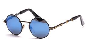 Klassische runde Metall Sonnenbrille in Kinder - bzw