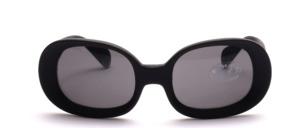Schöne Sonnenbrille mit breiten Glasrändern